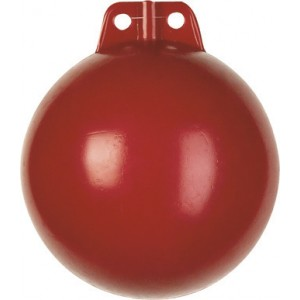 Bouée rigide polyéthylène rouge
