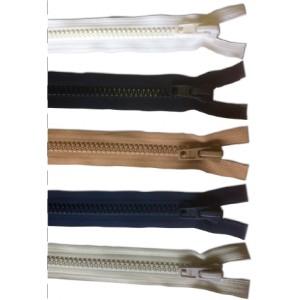 Fermeture YKK 9mm injectée à glissière séparable et curseur plastique
