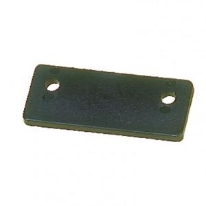 Contre plaque pour femelot et aiguillot de tableau arrière