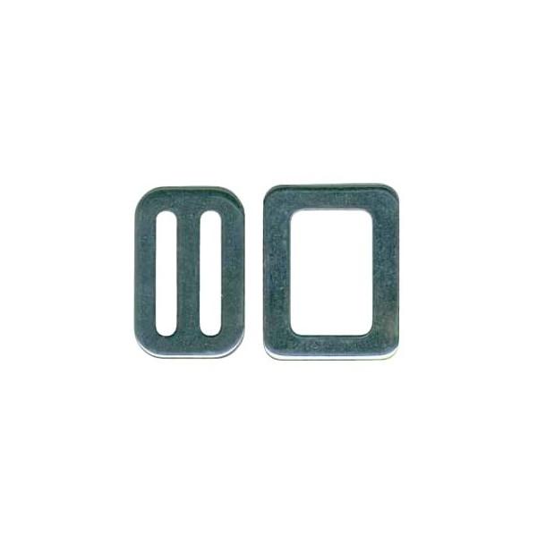 5c9588e54cc7 Boucle et passant inox 316 pour sangle 20mm, 25mm, 30mm, 40mm, 45mm ...