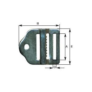 Boucle ladder lock inox 316