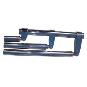 Collier inox fermé 30mm, 32mm, 38mm