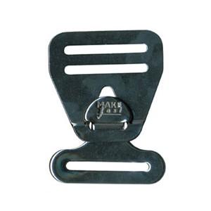 Boucle de harnais 25mm inox 316