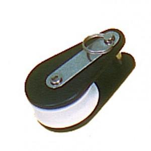 Poulie simple à anneau brisé