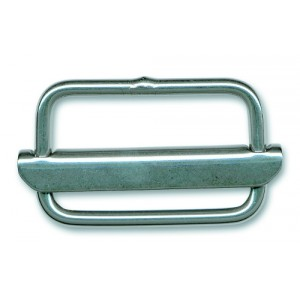 Boucle inox à barrette mobile inox