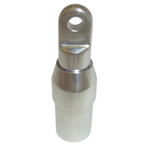 Embout de tube inox interne réglable 30mm, 32mm, 38mm