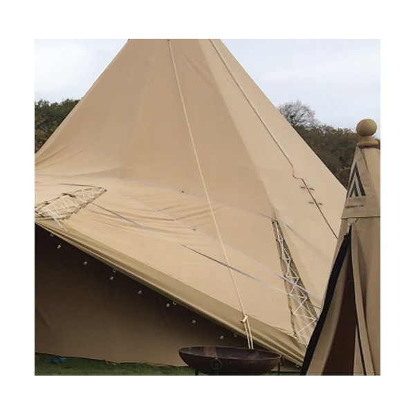 tissu pour toile de tente yourte tipi caravane camping non feu. Black Bedroom Furniture Sets. Home Design Ideas