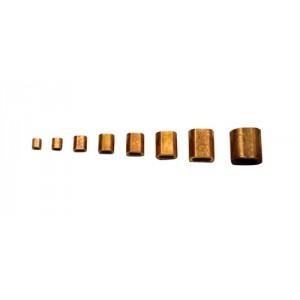 Manchon cuivre pour cable inox