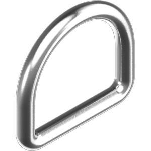 Anneau D inox 316 standard