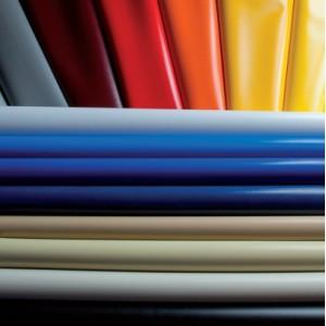 Tissu PVC 250cm feu retardant Polyester
