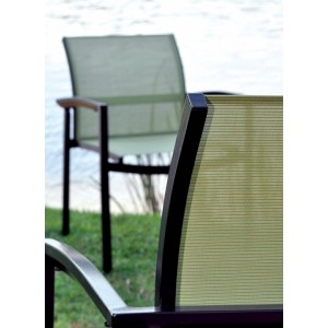 Tissu grille pour transat, bain de soleil, chaise longue