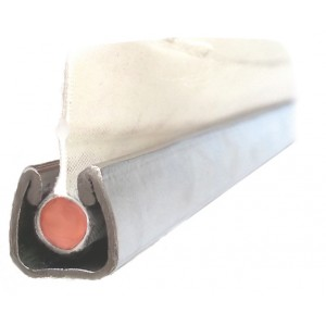 Rail inox pour ralingue et jonc